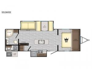 Sunset Trail SS260SI Floorplan Image