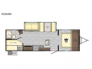 Sunset Trail SS262BH Floorplan Image
