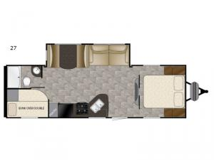 Trail Runner SLE 27 Floorplan Image