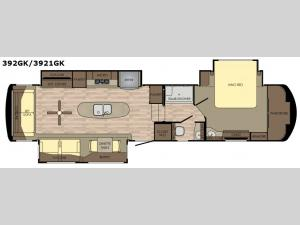 Redwood 3921GK Floorplan Image