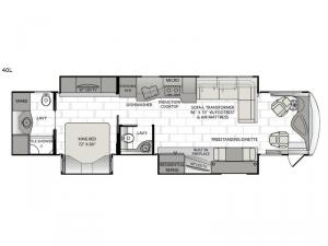 Signature 40L Floorplan Image