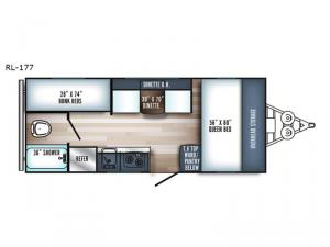 Real-Lite Mini 177 Floorplan Image