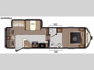 Sprinter 252FWRLS Floorplan Image