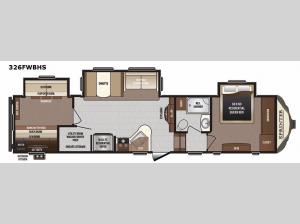 Sprinter 326FWBHS Floorplan Image