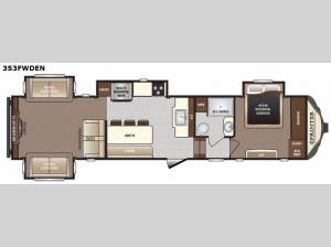 Sprinter 353FWDEN Floorplan Image