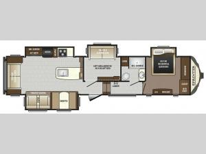 Sprinter 357FWLFT Floorplan Image