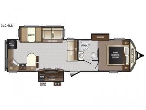 Sprinter 312MLS Floorplan Image