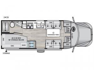 REV 24CB Floorplan Image