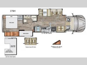 DynaQuest XL 37BH Floorplan Image