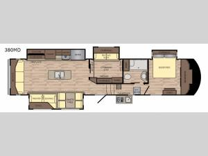 Volante 380MD Floorplan Image