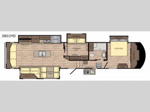 Volante 3801MD Floorplan Image