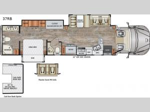 DynaQuest XL 37RB Floorplan Image