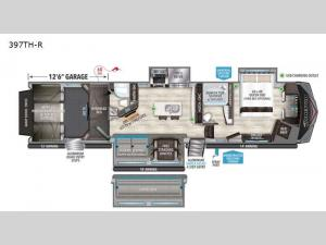 Momentum 397TH-R Floorplan Image
