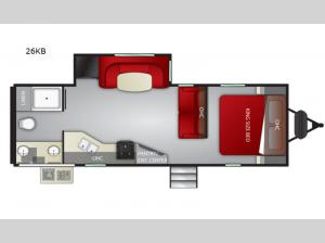 Radiance Ultra Lite 26KB Floorplan Image