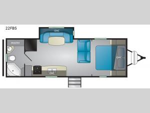 North Trail 22FBS Floorplan Image