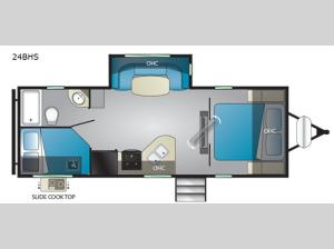 North Trail 24BHS Floorplan Image