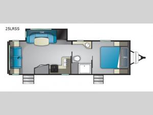 North Trail 25LRSS Floorplan Image