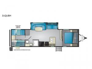 North Trail 31QUBH Floorplan Image
