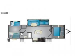 North Trail 33BKSS Floorplan Image