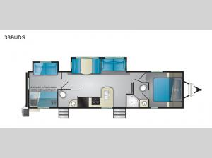 North Trail 33BUDS Floorplan Image