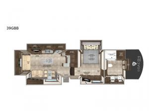 Beacon 39GBB Floorplan Image