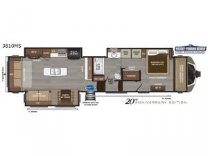 Montana 3810MS Floorplan Image