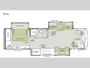 Allegro RED 340 33 AL Floorplan Image
