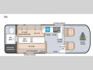 Sequence 20L Floorplan Image