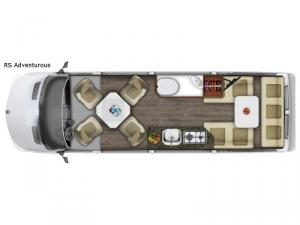 Roadtrek RS Adventurous Floorplan Image