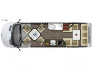 Roadtrek E-Trek Floorplan Image