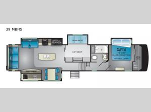 ElkRidge 39MBHS Floorplan Image