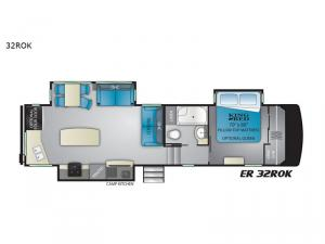 ElkRidge 32ROK Floorplan Image