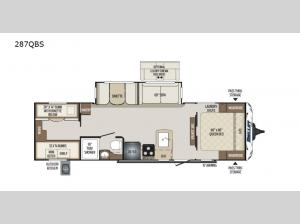 Bullet 287QBS Floorplan Image