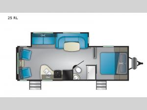Trail Runner 25 RL Floorplan Image