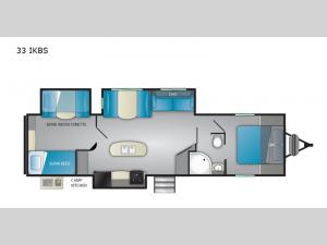 Trail Runner 33 IKBS Floorplan Image