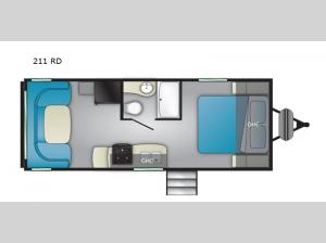 Trail Runner 211 RD Floorplan Image