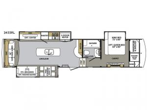 Cardinal Estate 3455RL Floorplan Image