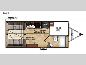Work and Play 19WCB Floorplan Image