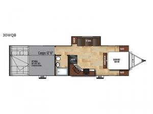 Work and Play 30WQB Floorplan Image