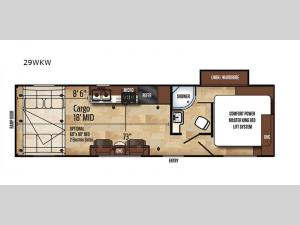 Work and Play 29WKW Floorplan Image