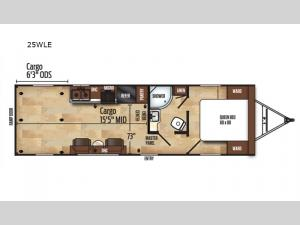 Work and Play 25WLE Floorplan Image