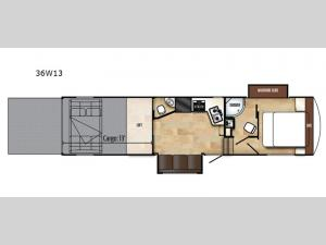 Work and Play 36W13 Floorplan Image