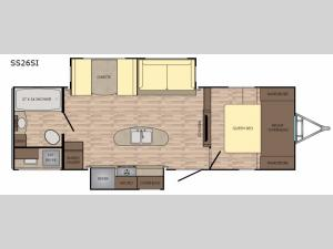 Sunset Trail Grand Reserve SS26SI Floorplan Image