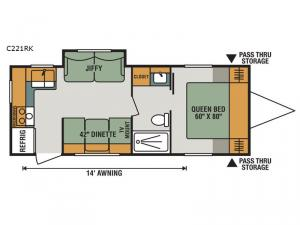 Connect C221RK Floorplan Image