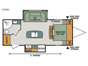Connect C222IK Floorplan Image