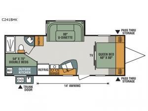 Connect C241BHK Floorplan Image