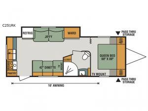 Connect C251RK Floorplan Image