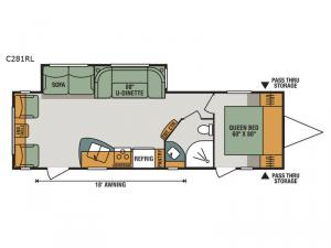 Connect C281RL Floorplan Image