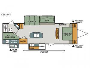 Connect C292BHK Floorplan Image