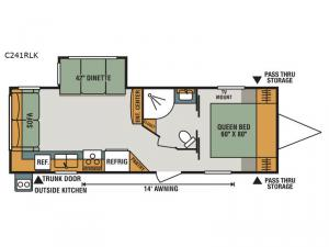 Connect C241RLK Floorplan Image